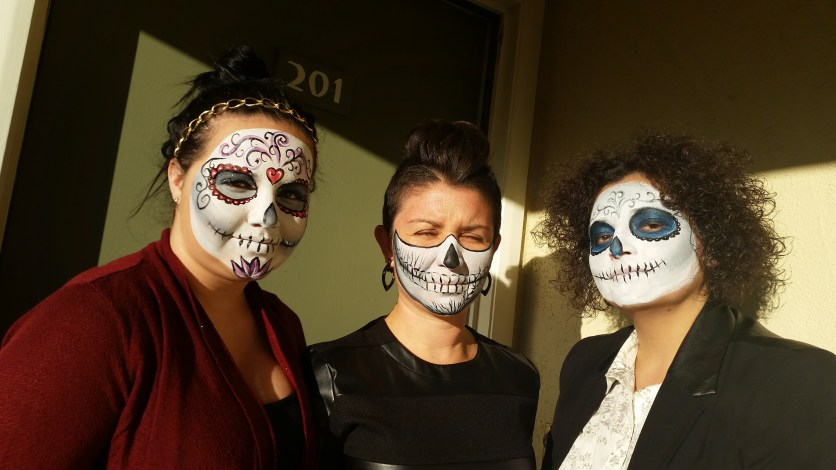 Pacific Party Services Face Painting, Halloween, Day of the Dead, Dia De Los Muertos