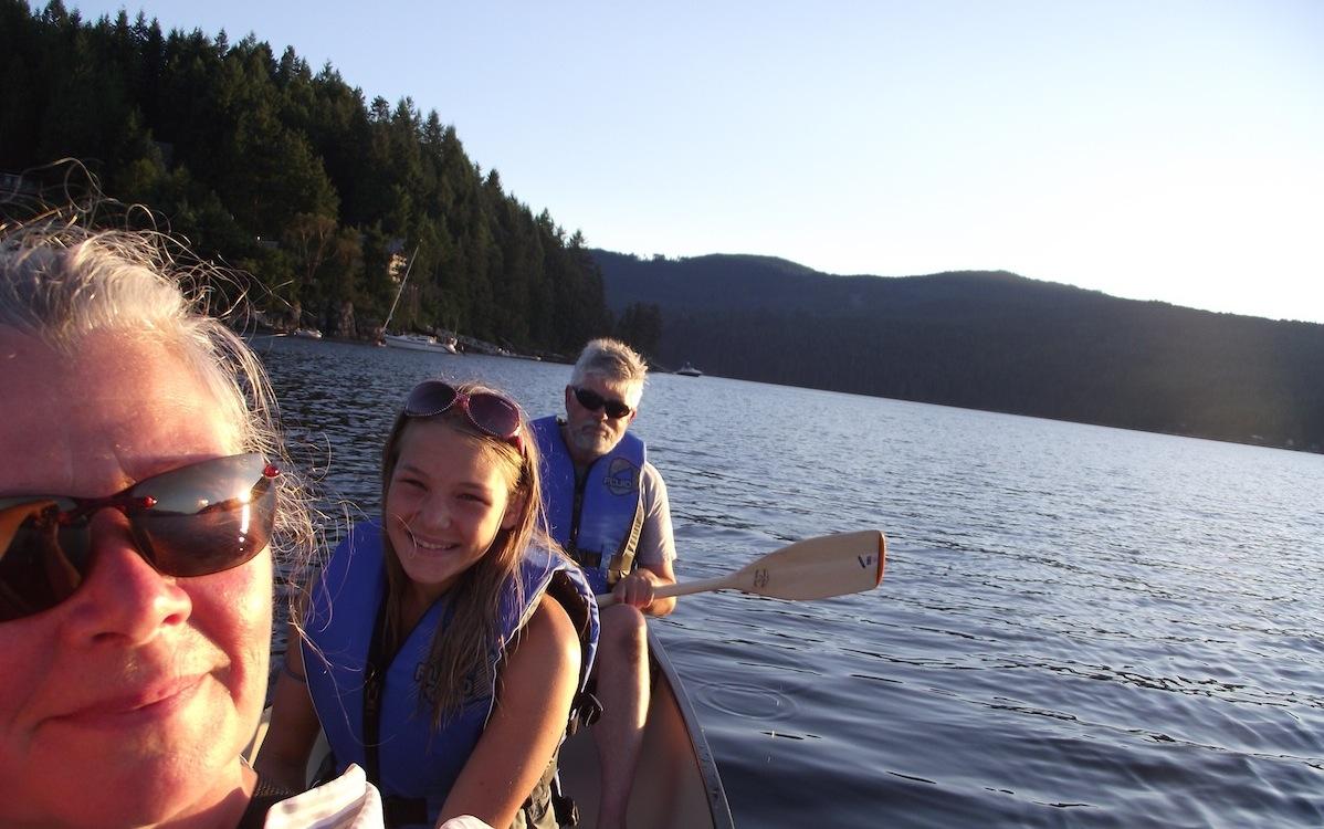 inlet canoe