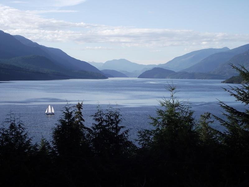 inlet sailboat