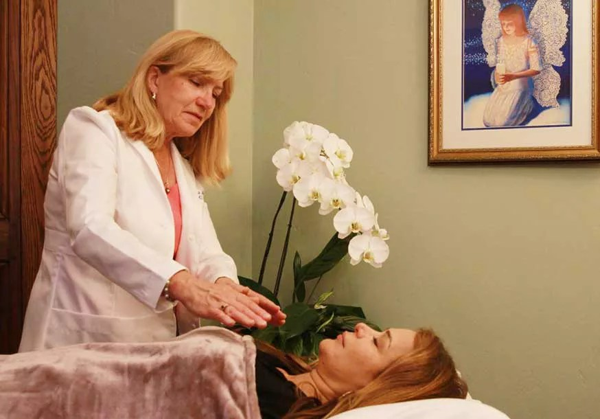 healing touch treatment with RAuni king