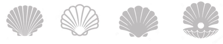 gray shells indicating integrative health services
