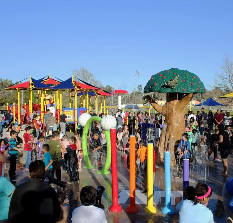 commercial play equipment at Margarita Park