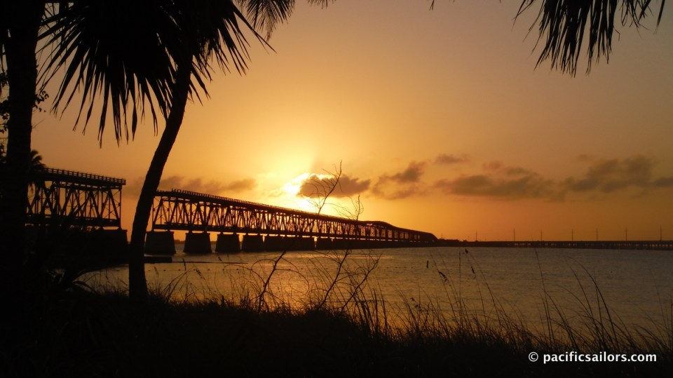 Florida Keys Overseas Highway Sunset