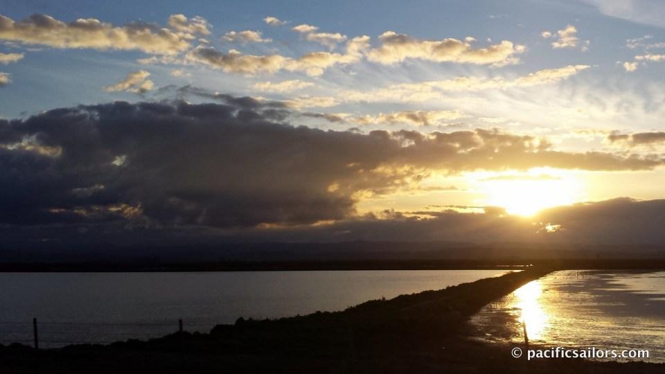 Sunset on I5