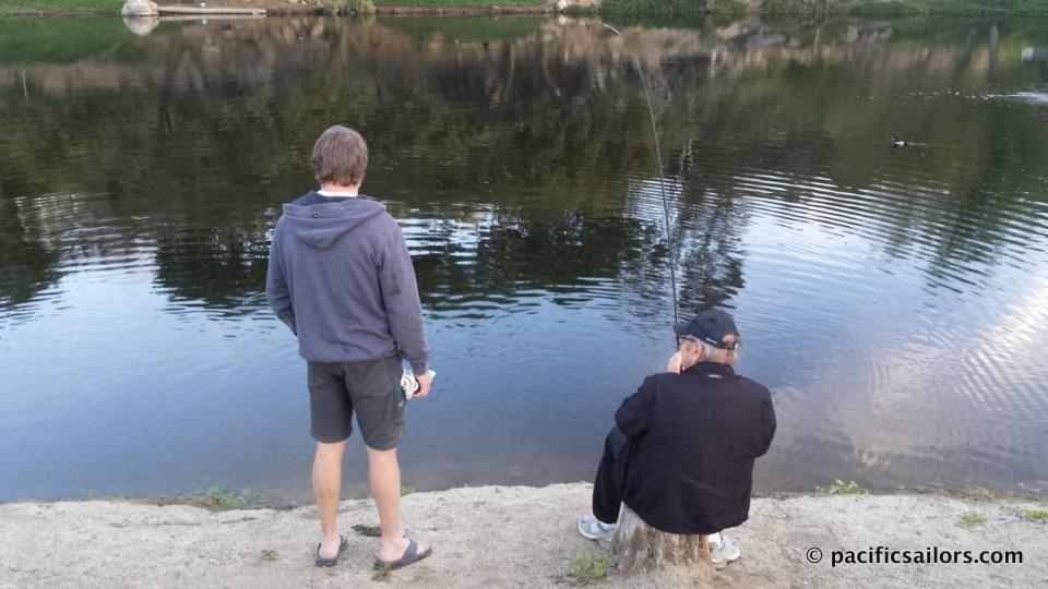 Fishing Champagne Lakes