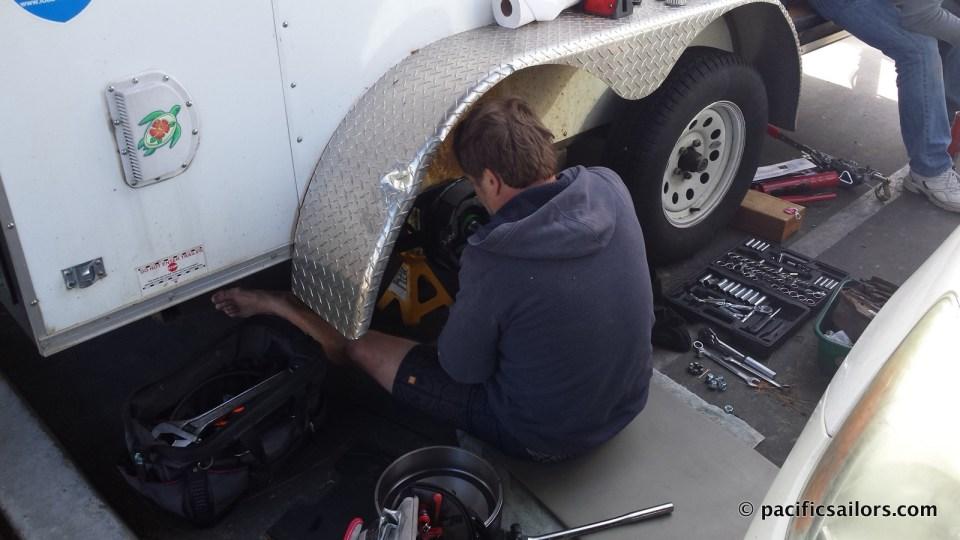 Cargo trailer tire