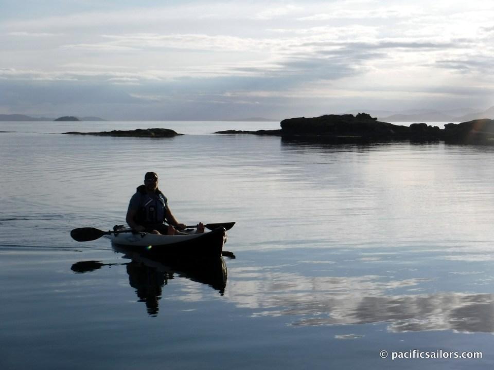 Shallow Bay Sucia Island kayaking