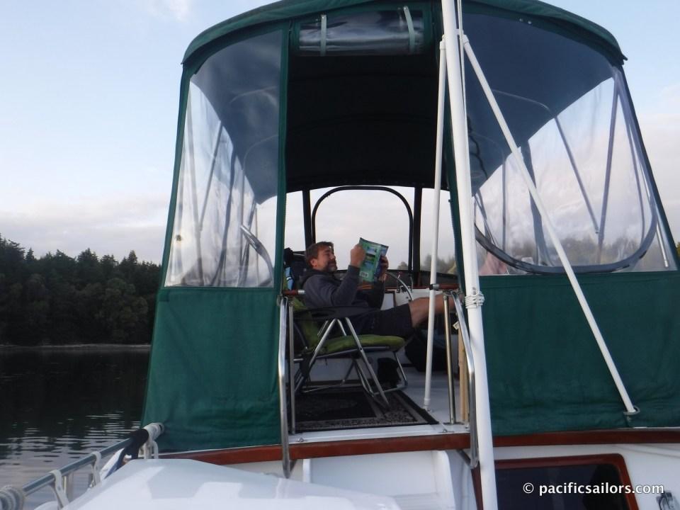Limerick Monk 36 enclosure flybridge