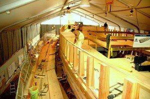 The deck of the Matthew Turner. Photo by John Skoriak
