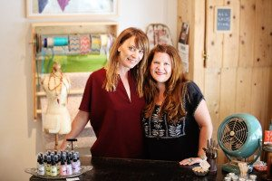 Jam Jar's Molly Perez (left) and Jamie Jean Wilson joined forces to open their shop in Santa Rosa's artsy SOFA district. Photo by Kristie Sheets.