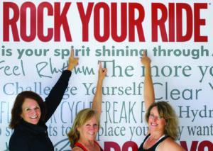 The women behind CycleBar.Photo courtesy of CycleBar.