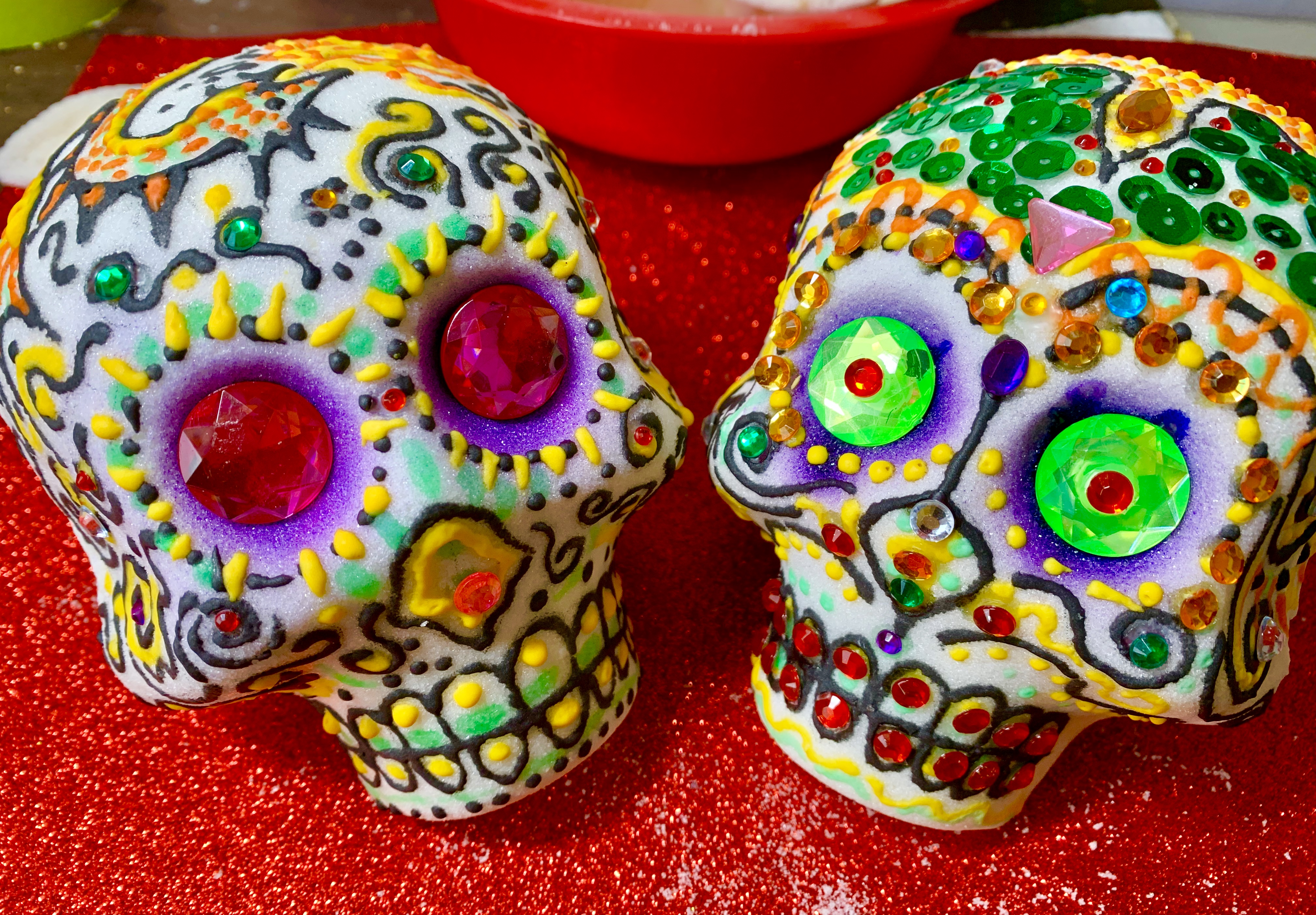 Unique Mexican Sugar Skull Decorating Art Class Hosted By