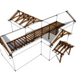 timber frame hybrid design by pacific timberworks