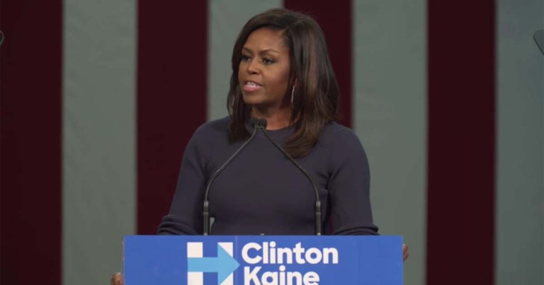 Michelle Obama Just Delivered The Fieriest Speech of This Election Season