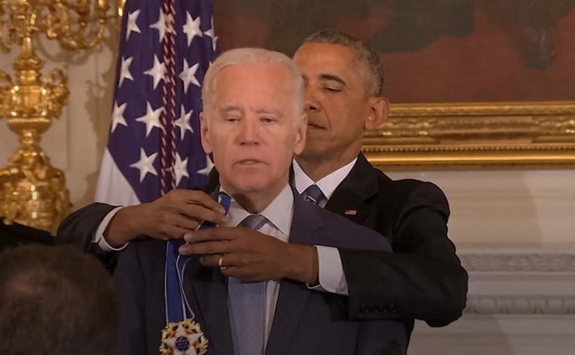 Vice President Joe Biden Awarded the Presidential Medal of Freedom