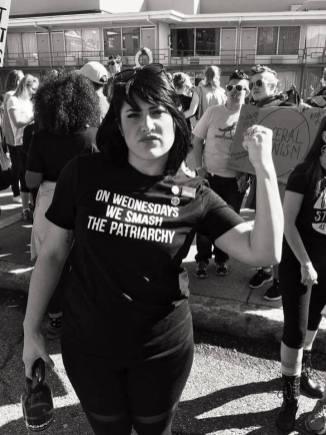 On Wednesdays, we smash the patriarchy. photo credit Jeff B White The Pacific Tribune