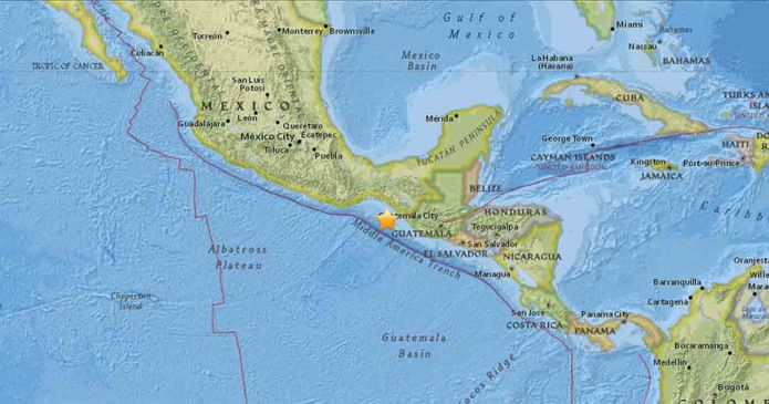 Massive 8.1 Earthquake Shakes Southern Mexico, Leaving At Least 32 Dead