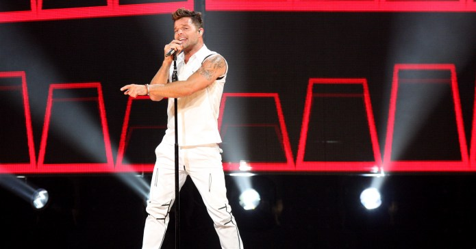 Ricky Martin Flaunts Tiny Speedo on Birthday Vacation in Puerto Rico