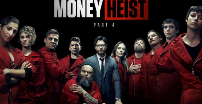 money heist season 4 english