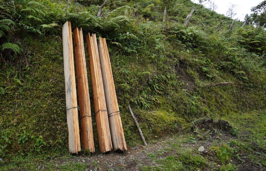 Extracción madera - Titango