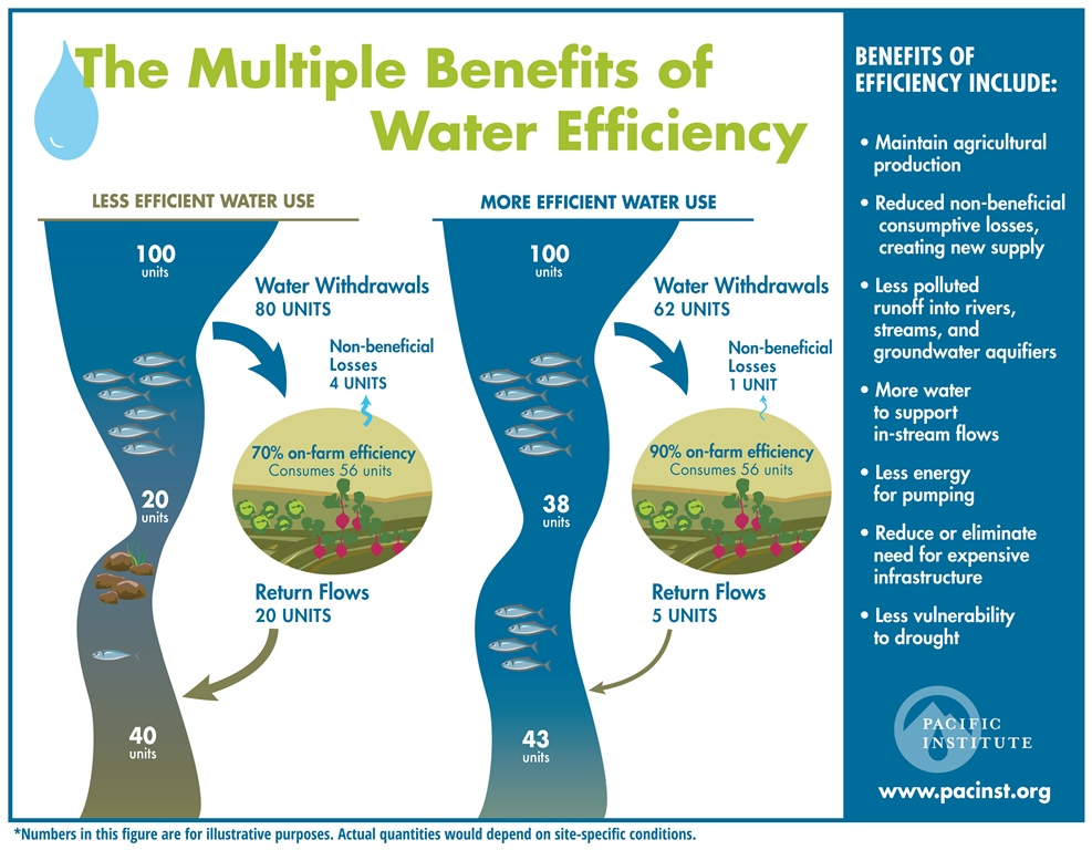 The Multiple Benefits Of Water Conservation And Efficiency