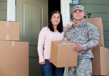 veteran and spouse moving in