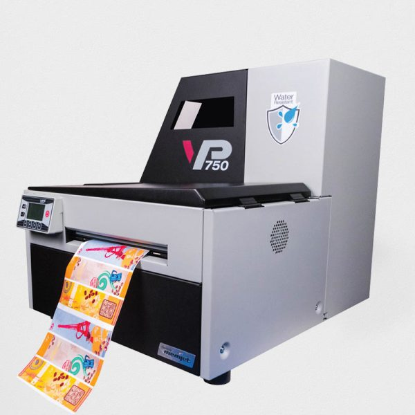 water resistant label printer