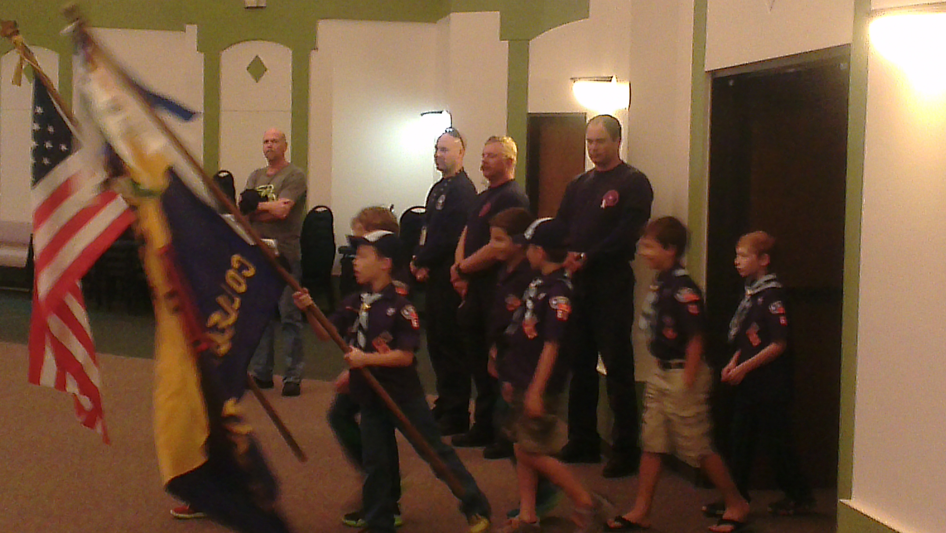 October Pack Meeting And Fire Safety Cub Scout Pack 60