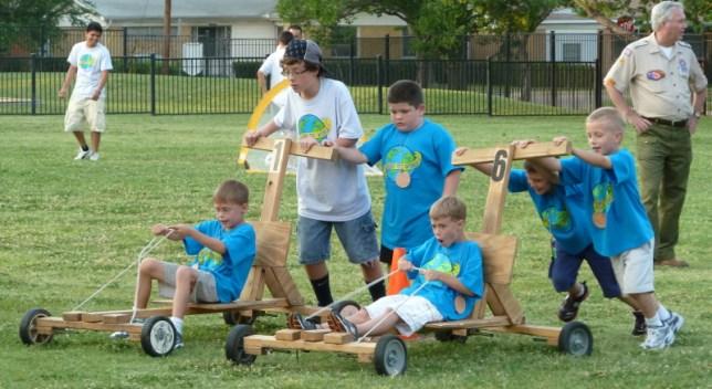 Cubmobiles at Twilight Camp