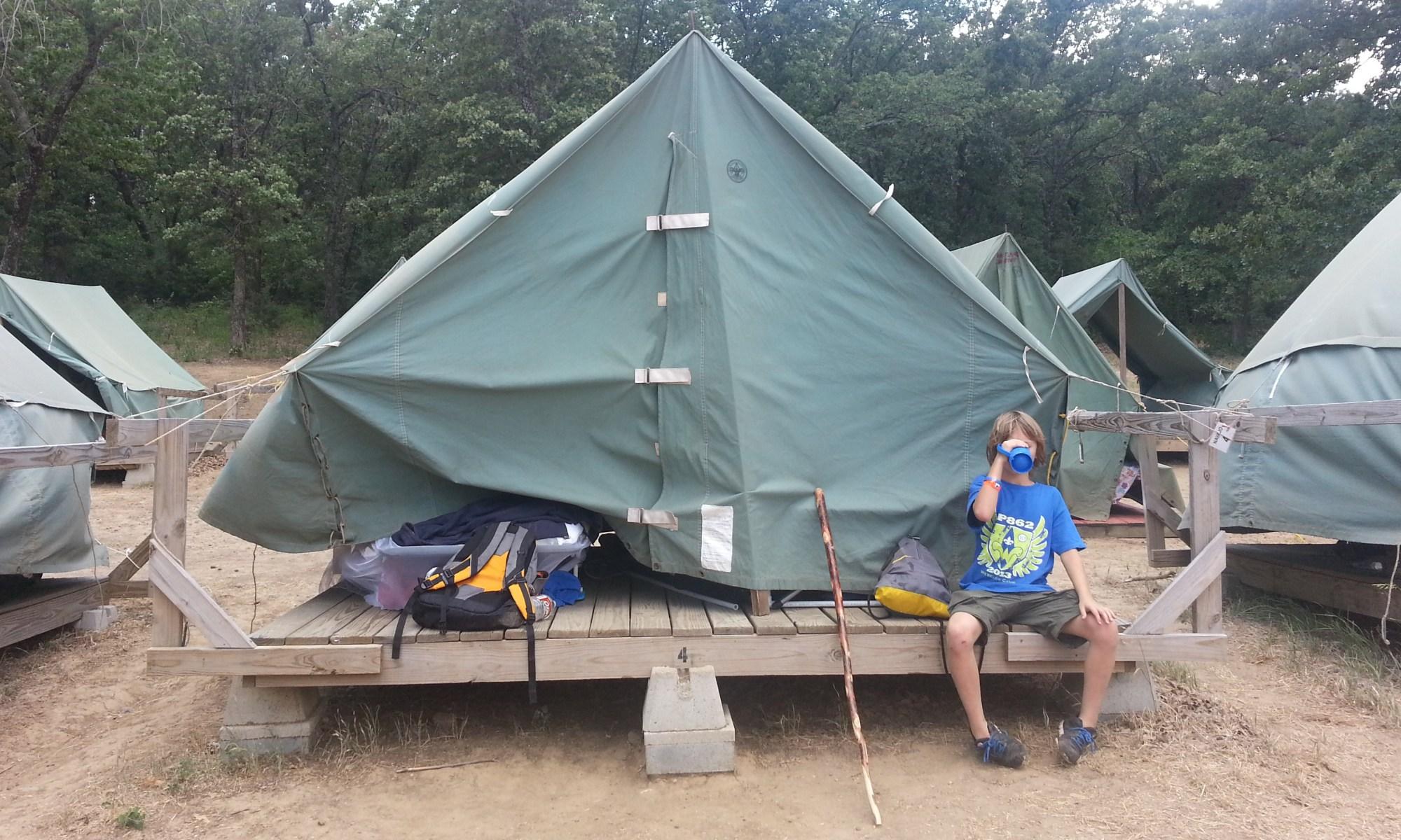Webelos Camp 2013