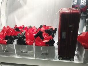 Gift Bags + RIMOWA in Window