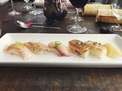 4th Course: Aburi Sushi