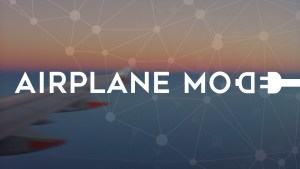 The 'airplane mode' effect and sustainable packaging