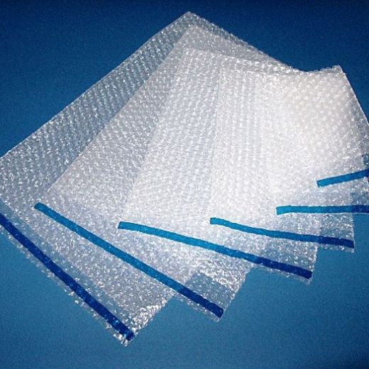 Clear Self Seal Bubble Bags