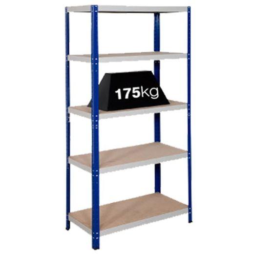 Shelving Bays 175kg Load Per Shelf