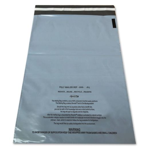 Grey Warning Bags