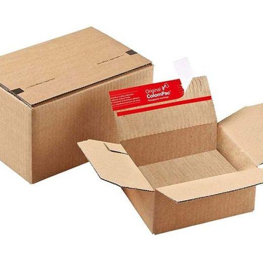 Pop-up, Peel & Seal Cardboard Boxes