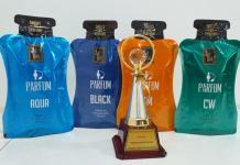 IFCA STAR AWARDS 2018 - Perfume bottle shape pouch for Incense Sticks-PackagingGURUji