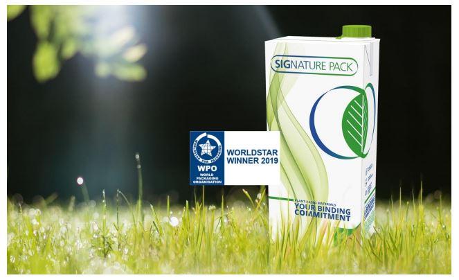 Aseptic Carton Won the WPO awards - SIG - PackagingGURUji
