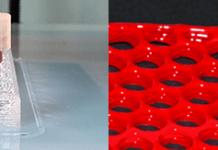color 3D printer, 3D printer, SILASTIC™ 3D 3335 Liquid Silicone Rubber, transparent 3D-printed, SILASTIC™ color 3D printer LSR