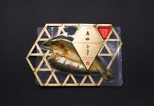 Fish Packaging Award, AYU HIRAKI, bamboo colander, Himono, frozen fish packaging award