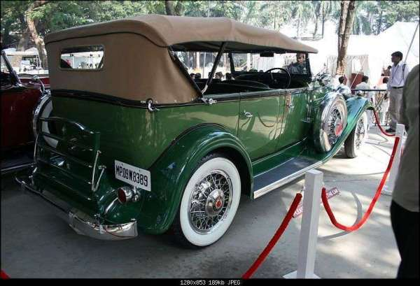 32 902 RHD in India : 1932 : Photo Archive - Packard Motor ...