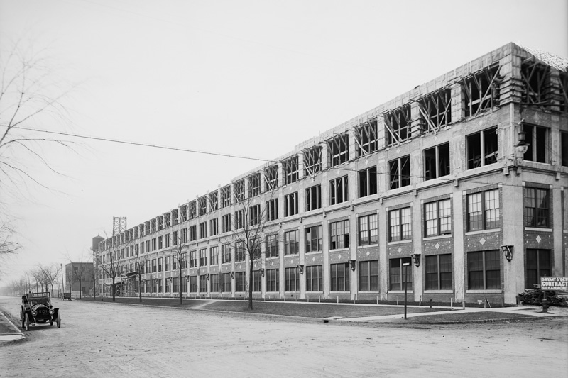 The Packard Plant Project History