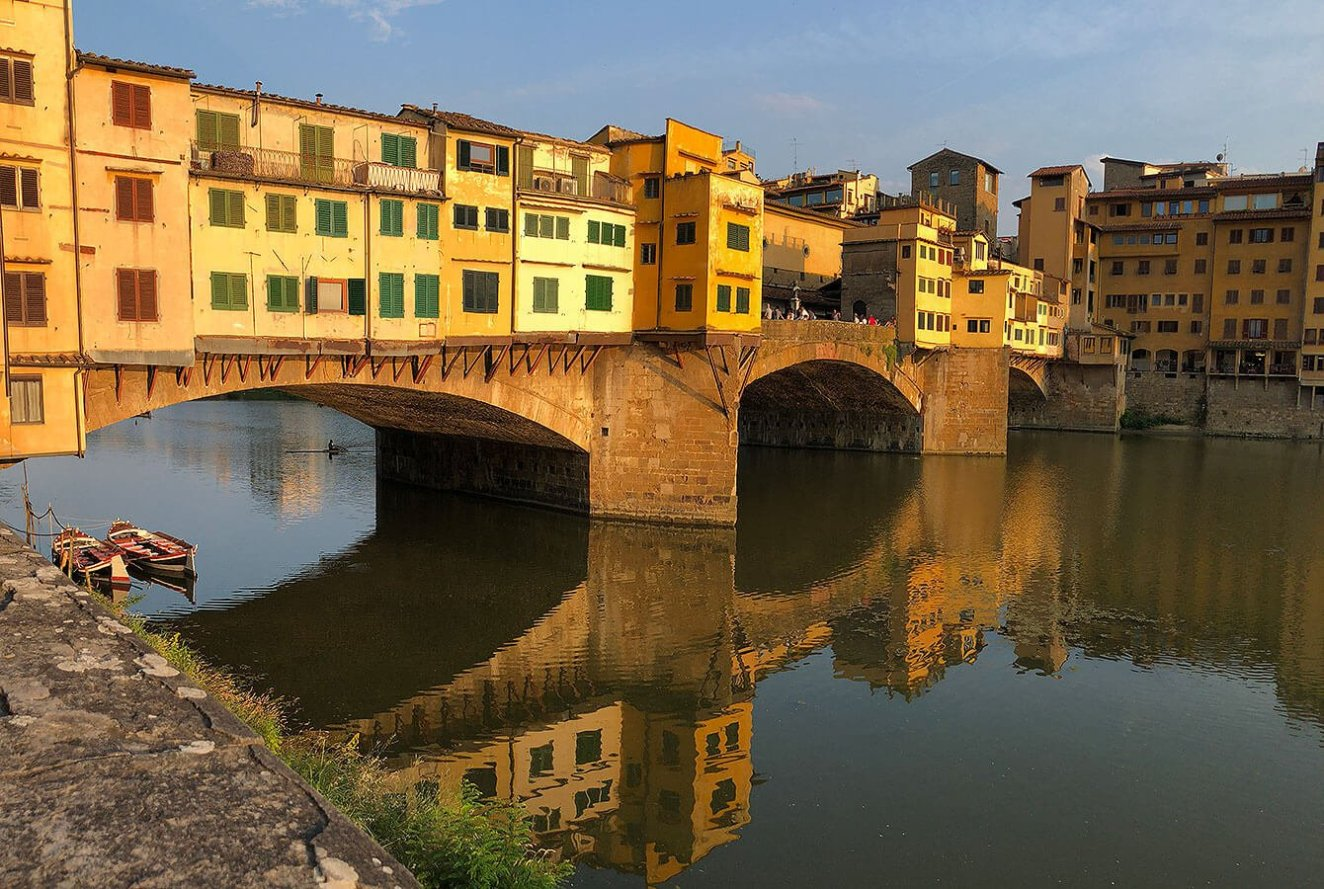 Ponte Vecchio at its best, Florence, Tuscany