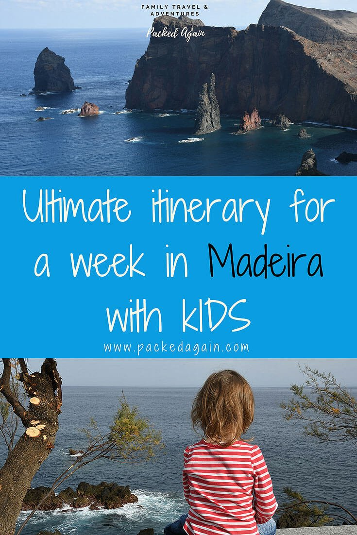 Ultimate itinerary for a week in Madeira with kids