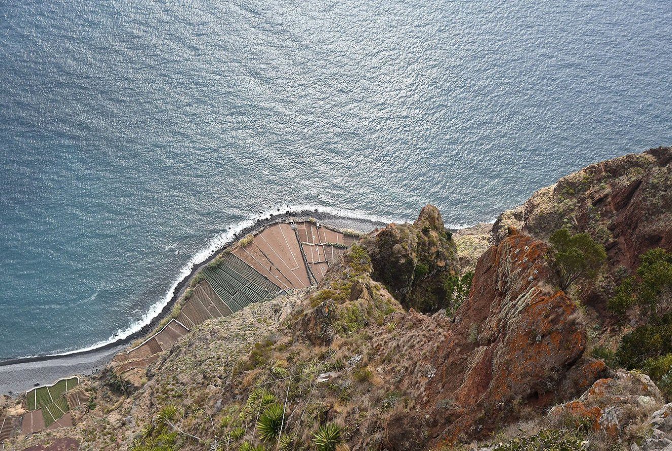 Cabo Girao, Sky-glass floor viewpoint, Madeira Portugal