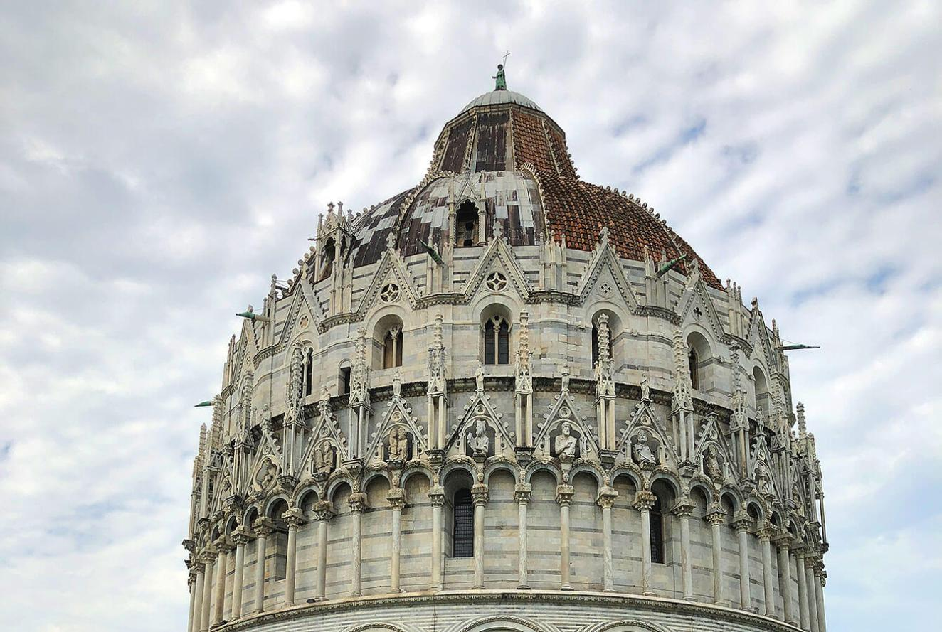 "The Cathedral - Duomo of Santa Maria Assunta, ""The Piazza dei Miracoli""  PISA"