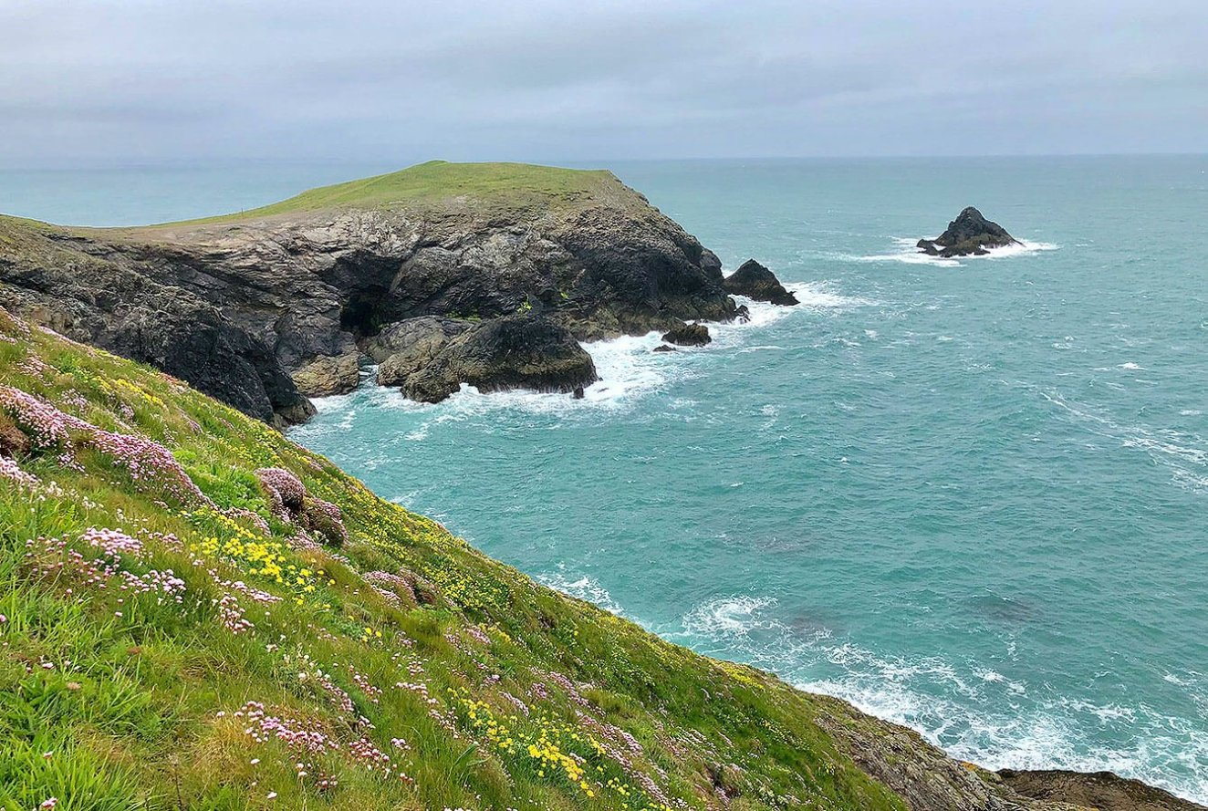Trevose Head Headland, Atlantic Coast, North Corwall, England