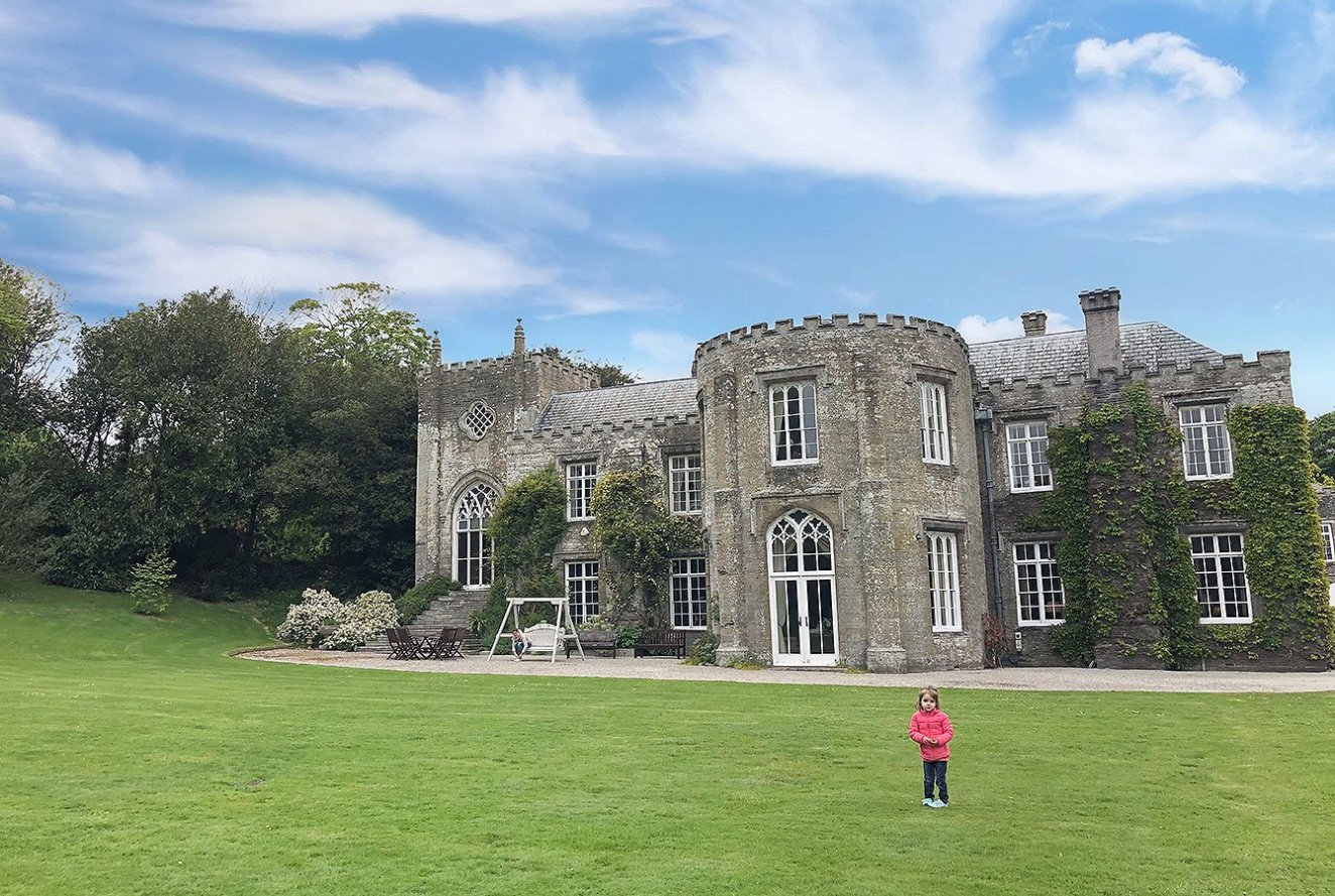 Prideaux Place, North Cornwall, England