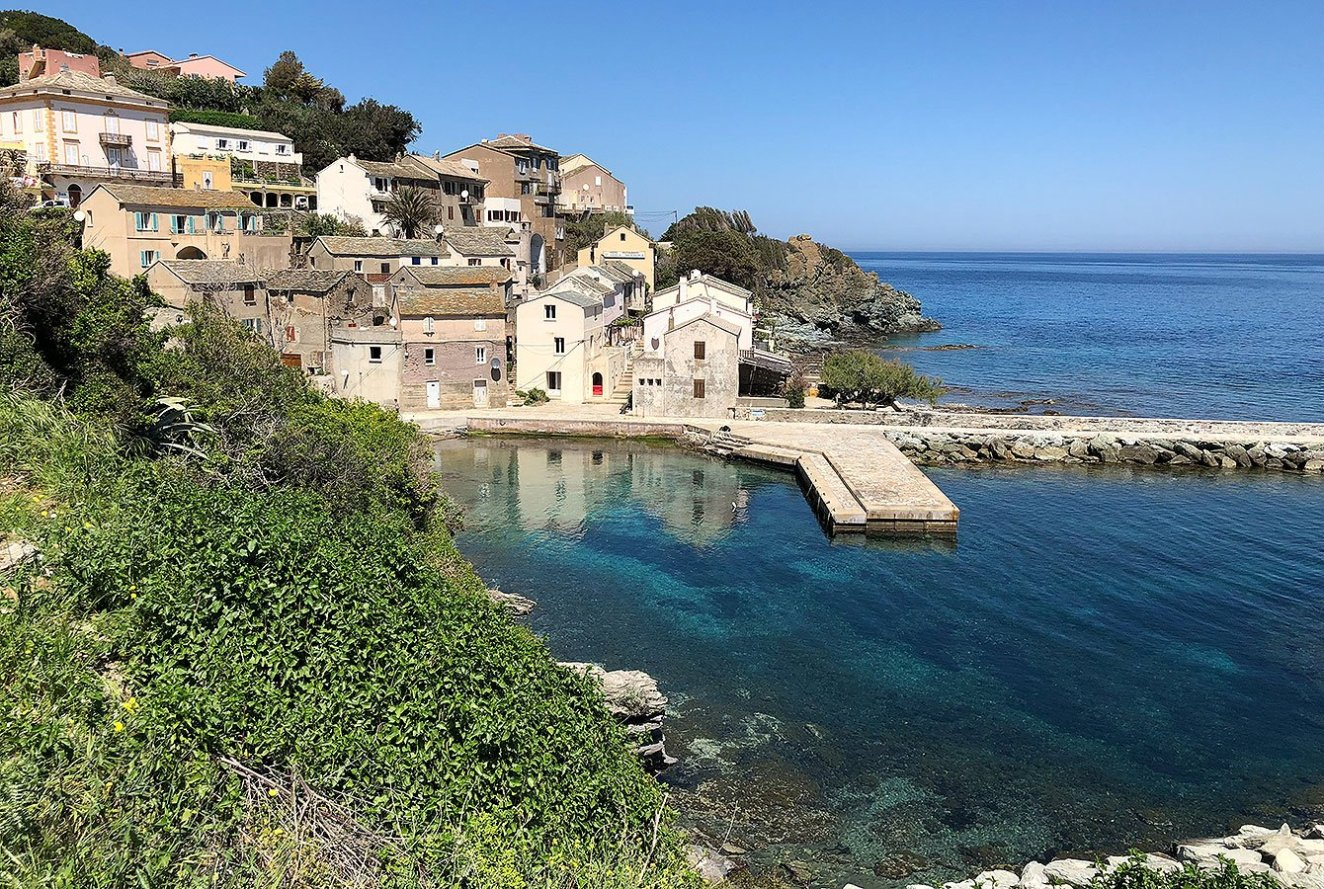 Corsican Village at the Cap Corse - France